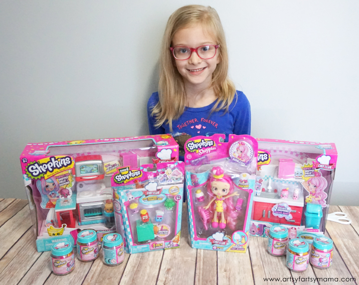 Encourage Creative Play with Shopkins Chef Club #MooseHolidays16