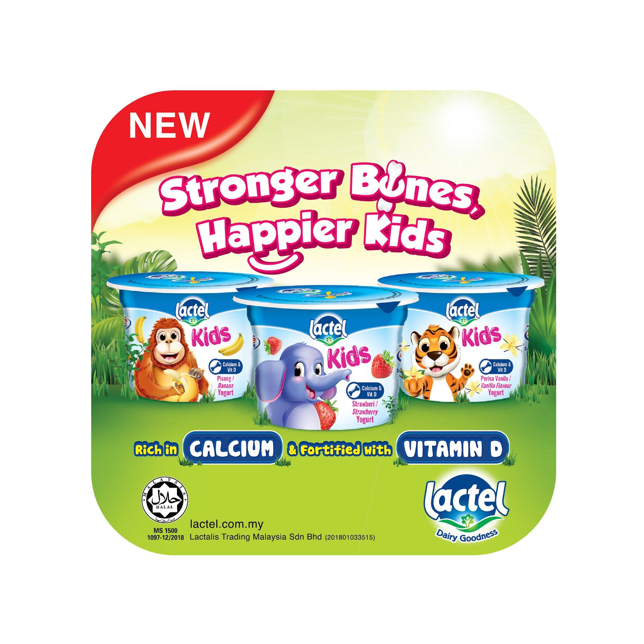 Yogurt Lactel Kids
