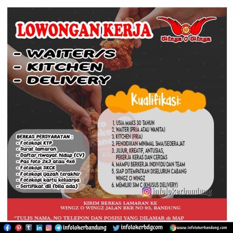 Lowongan Kerja Wingz O Wingz Bandung Maret 2021
