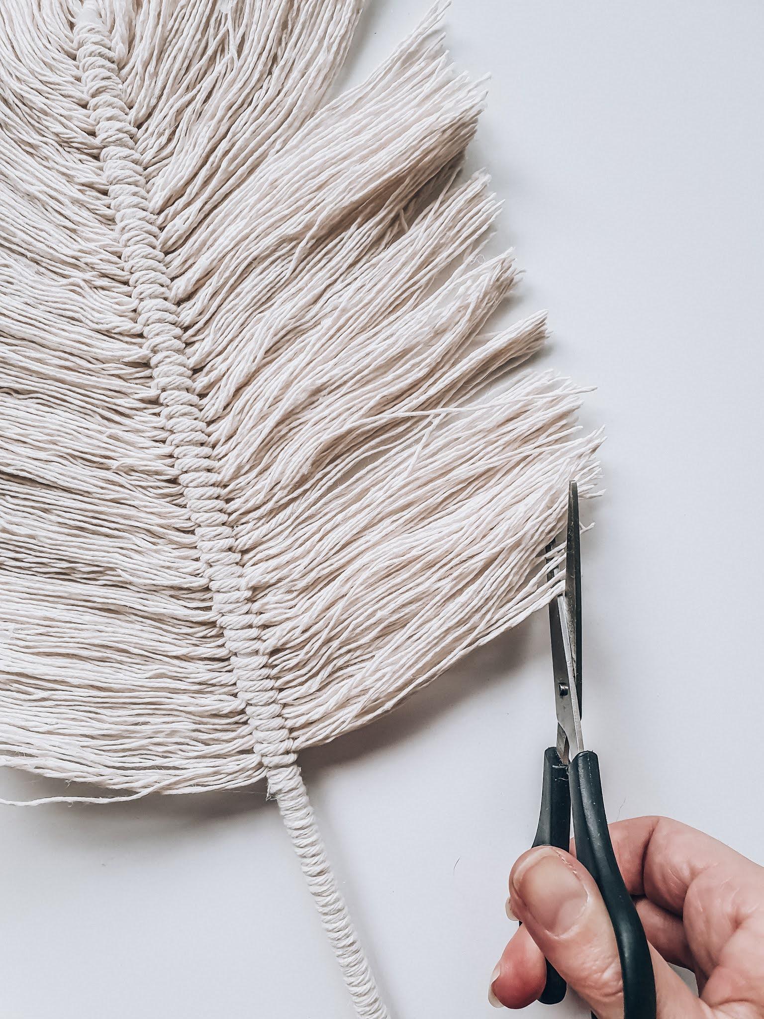 Dekoracja w stylu boho - jak zrobić piórka ze sznurka? INSTRUKCJA KROK PO KROKU
