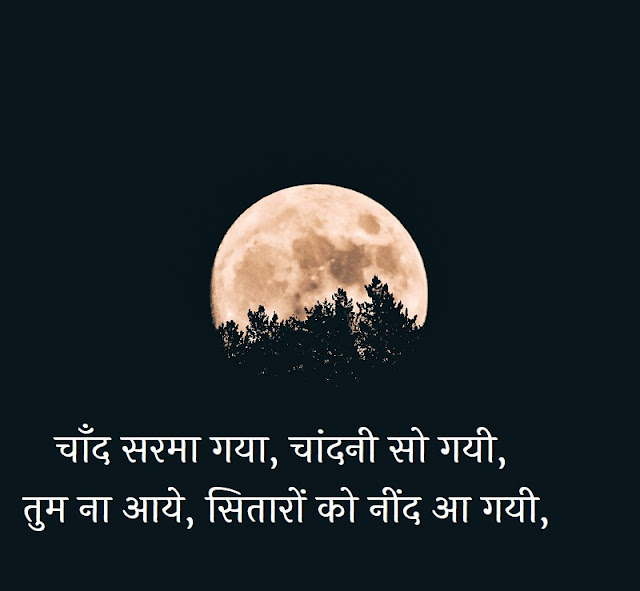 Hindi Good Night Shayari