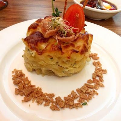 Baked Cheese Penne Hotel Granada Johor Bahru