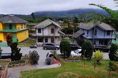 villa bella vista berastagi
