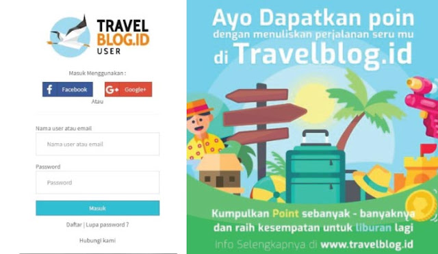 Ceritakan Senangnya Perjalananmu Dengan TravelBlog.id