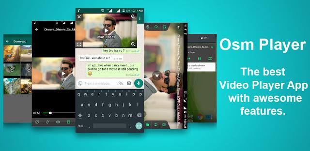 قم بتنزيل Osm Video Player - Free HD Video Player App 2.5 - تطبيق مشغل فيديو ممتاز للاندرويد