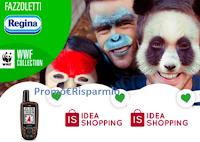 Logo Fazzoletti Regina ''Faccia da Panda - 2° edizione'': vinci gratis buoni Idea Shopping da 10€ e da 50€