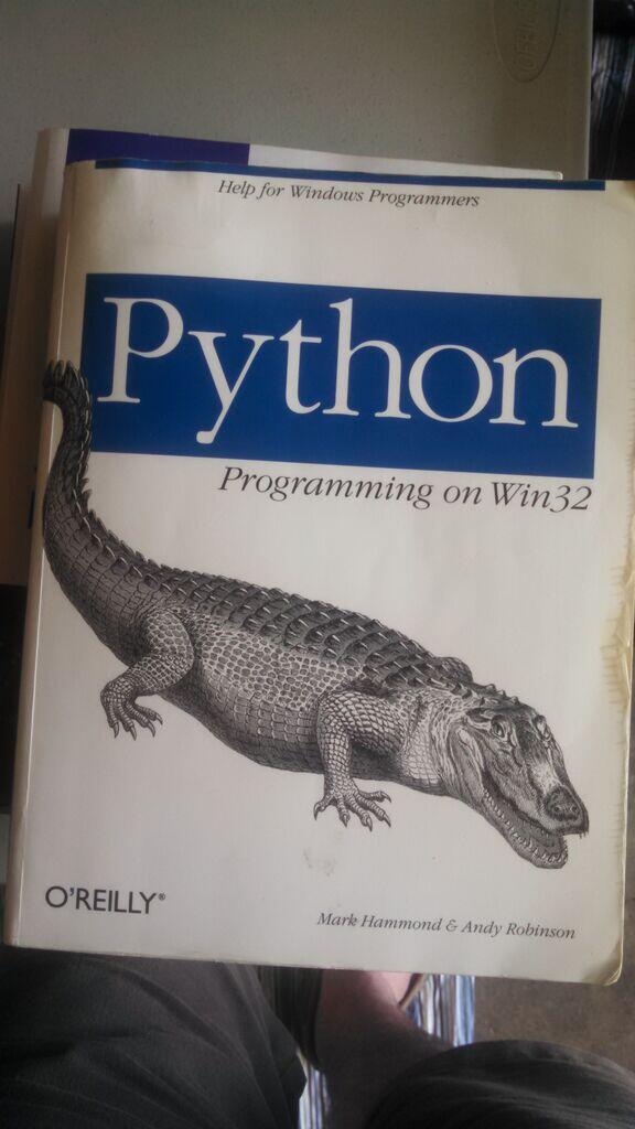 Python Software Foundation News: Mark Hammond Receives Distinguished