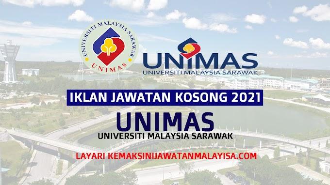 PERMOHONAN JAWATAN KOSONG UNIVERSITI MALAYSIA SARAWAK (UNIMAS) 2021