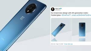 OnePlus reveals official 7T photos