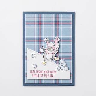 Stampin' Up! Freezin' Fun Wobble Card + 6 More! ~ Aug-Dec 2020 Mini Catalog #stampinup ~ www.juliedavison.com