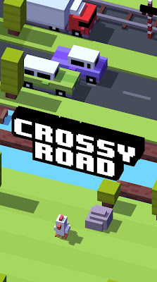 Crossy Road is an endless arcade hopper made out of voxel art for iPhone.