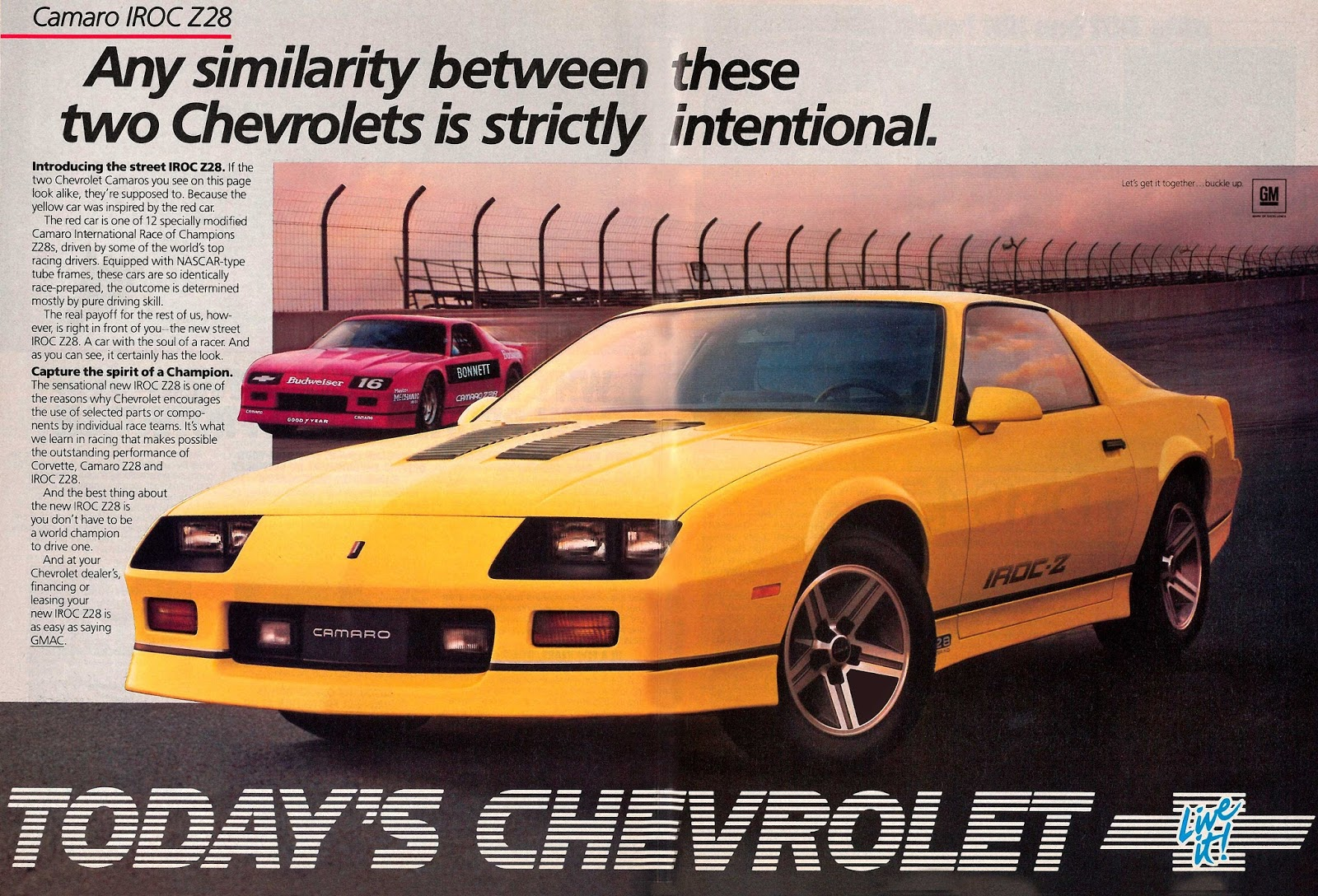 In The New Paramount Transformers Films Blebee Is A Chevy Camaro Which Would Lead Me To Guess That Iroc Z Likely Choice