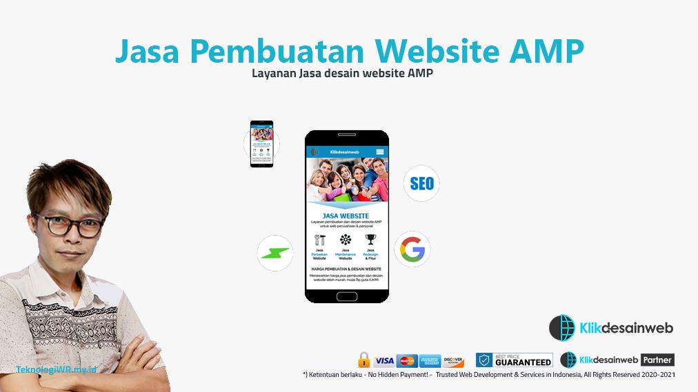 jasa pembuatan website amp,jasa google amp,jasa desain website amp
