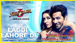 Lagdi Lahore Di Lyrics Guru Randhawa from Street Dancer 3D
