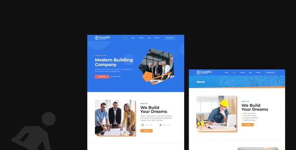 Best Construction and Industrial Elementor Template