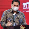 Menko Airlangga: Pemerintah Tingkatkan Kapasitas Tempat Tidur di RS Kota/Kabupaten Zona Merah Hingga 40%