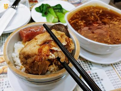 香港茶水攤-延吉店,臘腸北菇雞蒸飯