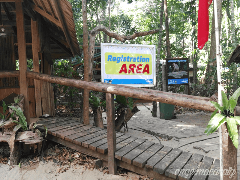 Underground River's Registration Area