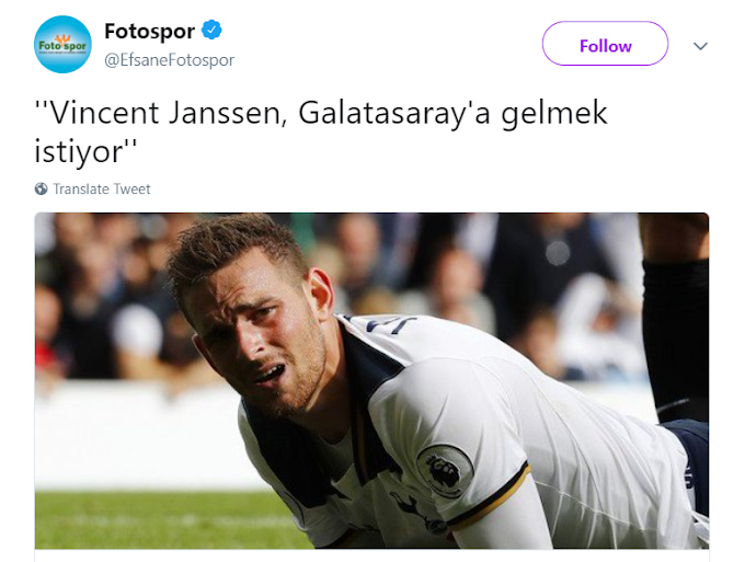 What's the real Issue With Vincent Janssen