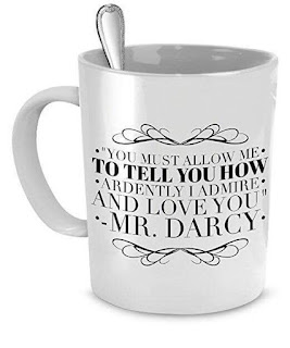 Mr Darcy Uses This Mug!