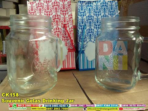 jual Souvenir Gelas Drinking Jar