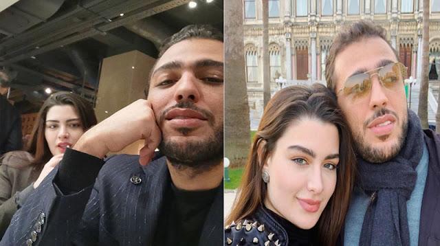 روان بن حسين تكشف عن وجه زوجها لأول مرة