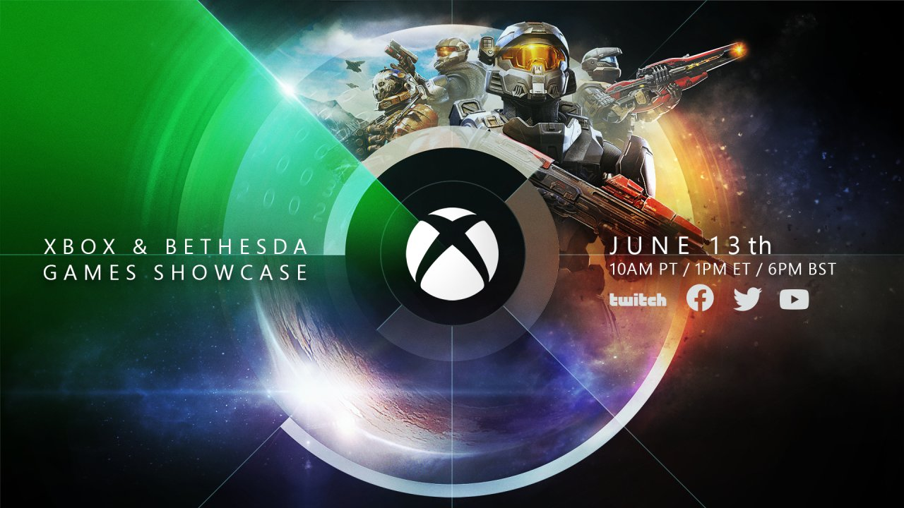 Xbox & Bethesda Games Showcase Confirmed for June 13