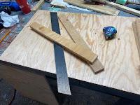 Door and bracing parts