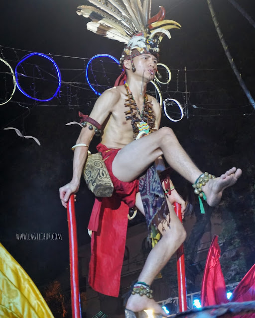 Defile Kalimantan, Semarang Night Carnival 2019