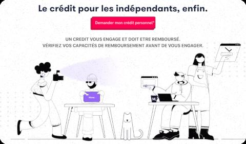 Franfinance + Mansa : crédit personnel aux indépendants