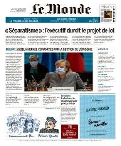 Le Monde Magazine 20 November 2020 | Le Monde News | Free PDF Download