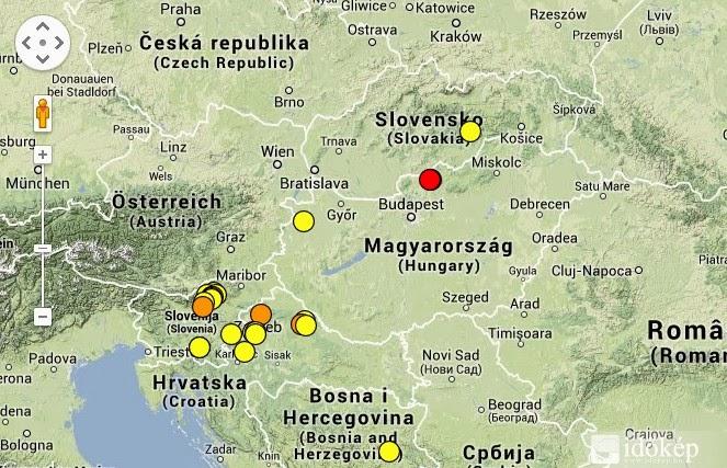 4,4-es erősségű rengés volt Nógrádban