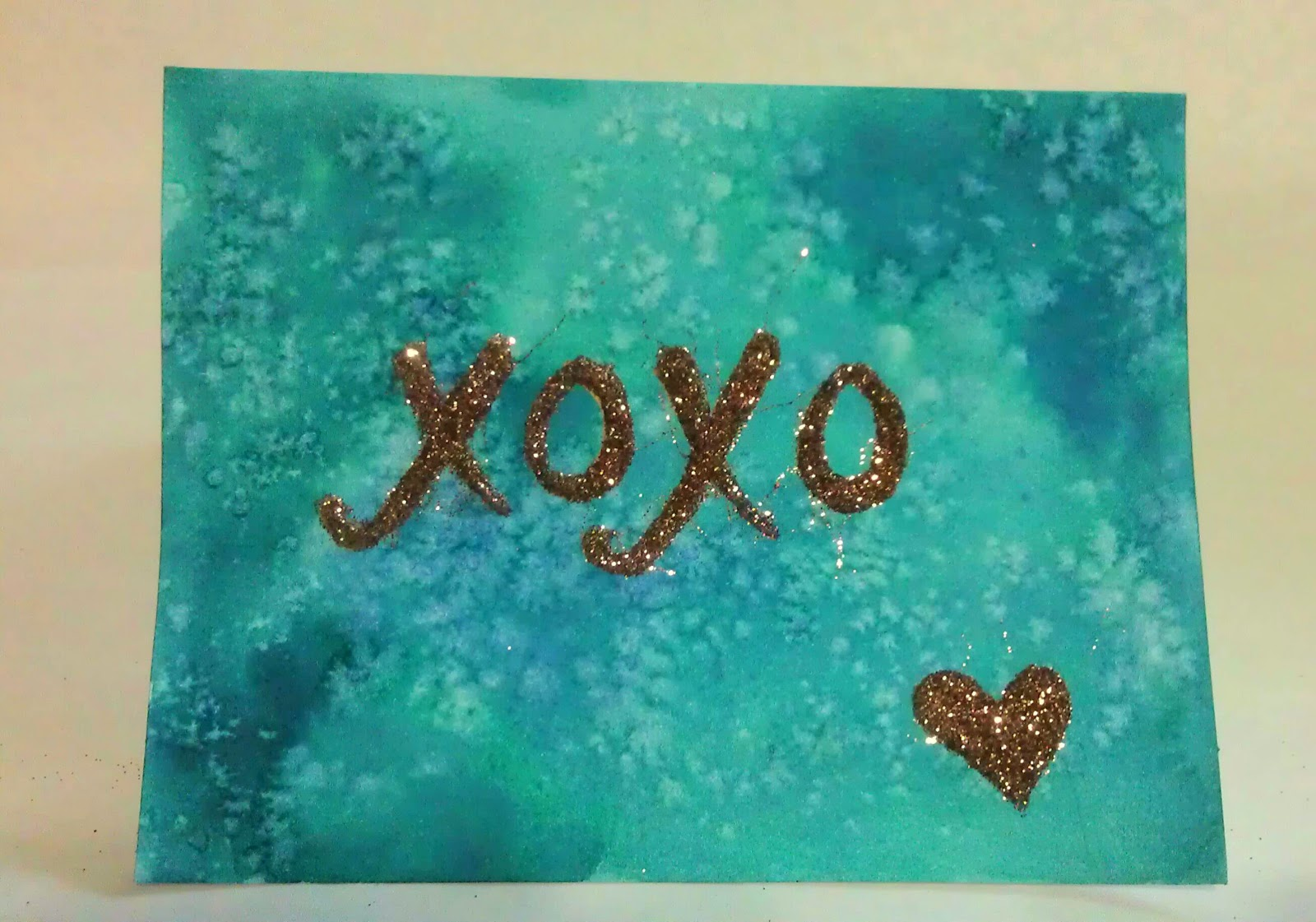 Carolyn Horne Illustration Valentine Diy How To Make Glittered