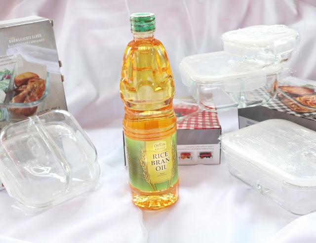 Oryza Grace Rice Brand Oil, minyak goreng sehat, minyak bekatul, minyak dedak, healthy oil