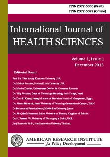 IJHS - International Journal of Health Sciences