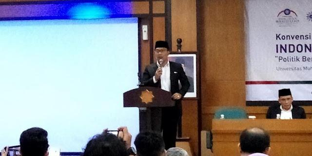 Ridwan Kamil Sebut Jokowi Adalah Sosok Pemimpin Ideal Masa Kini