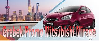 Promo Penjualan Mitsubishi Mirage
