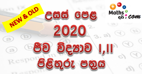 Advanced Level Biology 2020 Marking Scheme