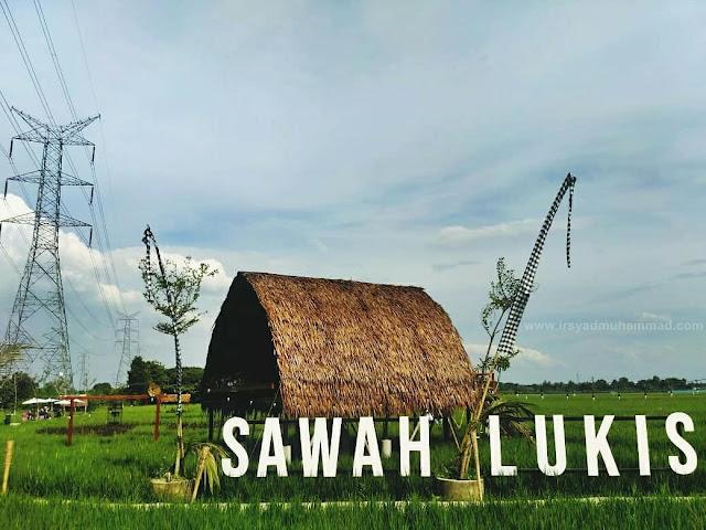 Wisata Sawah Lukis Binjai Sumatera Utara