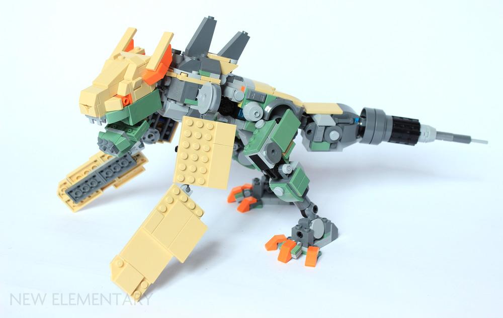 LEGO® Overwatch: Bastion alternate model | New Elementary, a