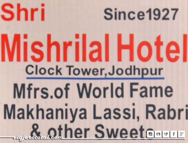 Shri Mishrilal Hotel de Jodhpur, India