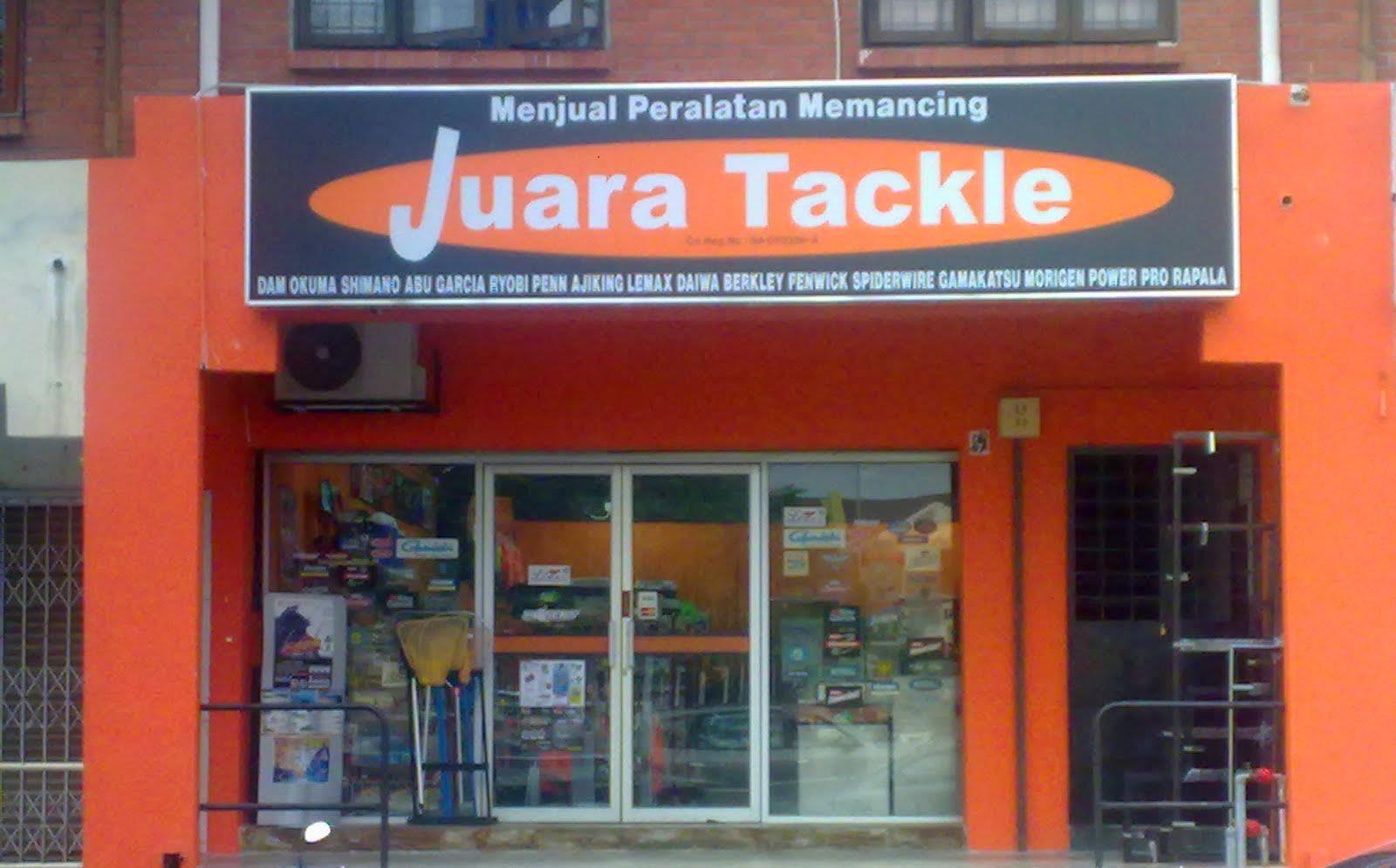 Kedai Pancing Juara Tackle Enterprise