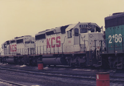 Kansas City Southern SD40-2 692