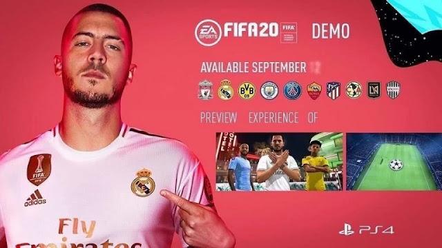 تسريب تاريخ إطلاق ديمو لعبة FIFA 20