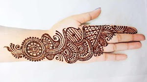 Simple Mehndi Design Collection for Hands on Ganesh Chaturthi