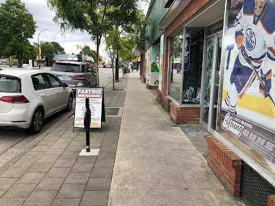 Sidewalk in Downtown Langley