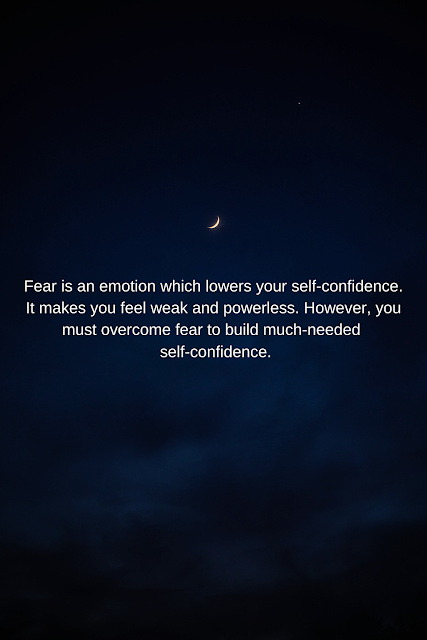 The Importance of Overcoming Fear