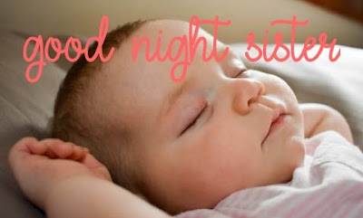 cute good night images for sister