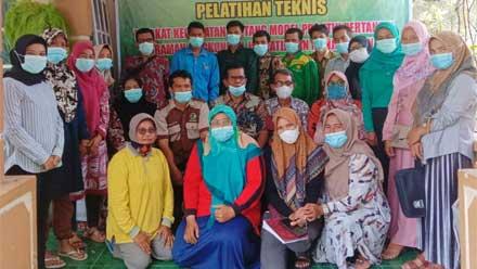 Konsil LSM Indonesia Adakan Pelatihan Teknis di KWT Harmonis Ulakan Tapakis