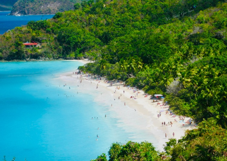 Trunk Bay, St. John - US Virgin Islands,  one of the world's most beautiful beaches | Ms. Toody Goo Shoes
